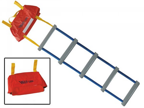 5 Step Emergency Safety Rescue Ladders - Marine Yacht Boat Hang Over Board